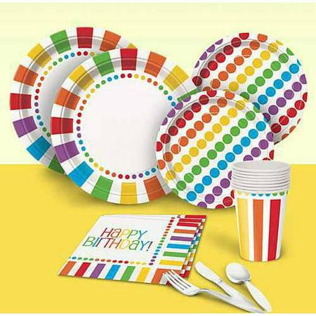 Rainbow Birthday Party Pack