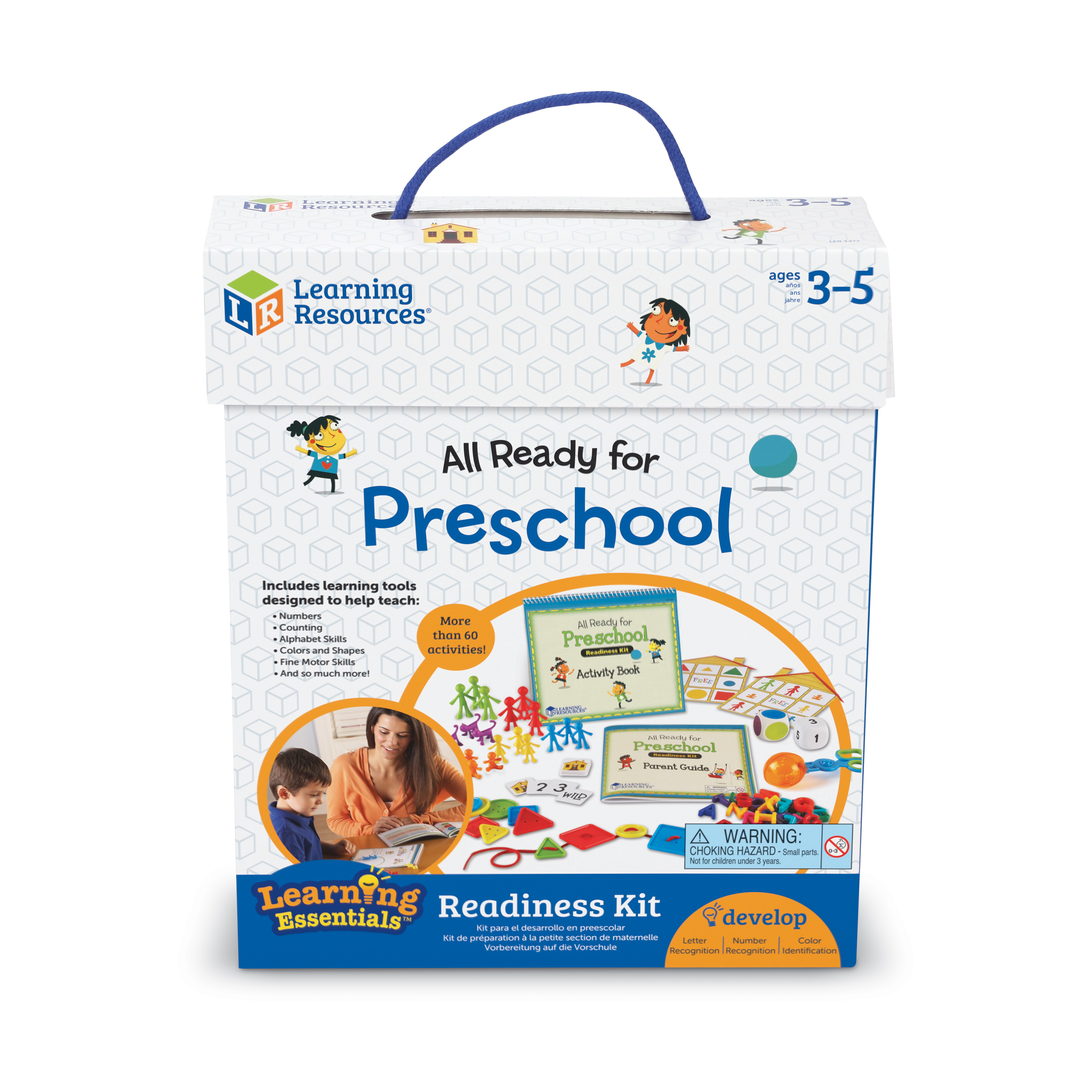 Learning Essentials - All Ready for Preschool Readiness Kit