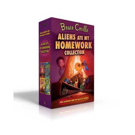 Aliens Ate My Homework Collection : Aliens Ate My Homework; I Left My Sneakers in Dimension X; The Search for Snout; Aliens Stole My - Stole For Graduation