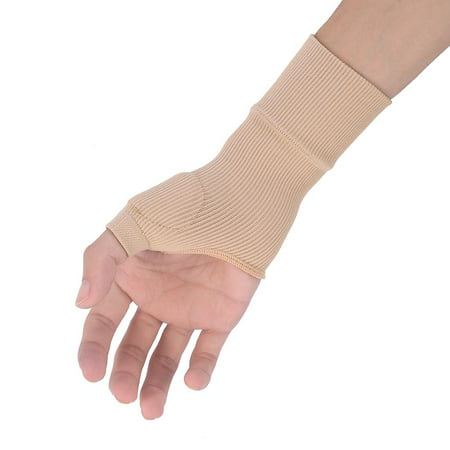 Yosoo Therapy Glove / Bandages, 1PCS Wrist Thumb Support Braces Therapy Wrist Hand Thumb Gloves Spandex Nylon Wrist Support Brace for Tenosynovitis Typing Pain (Best Wrist Brace For Typing)