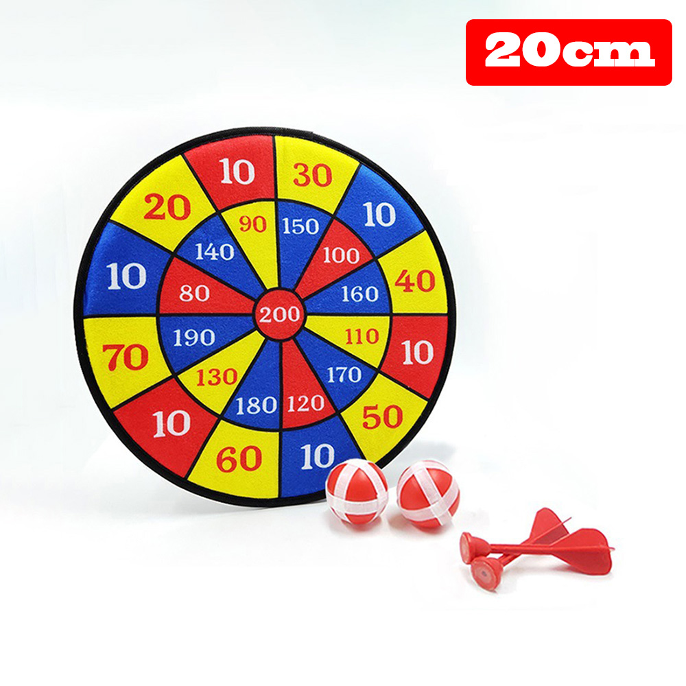 1 Set Creative Shooting Sticky Target Toy Soft Dart Board Toy Nursery Home