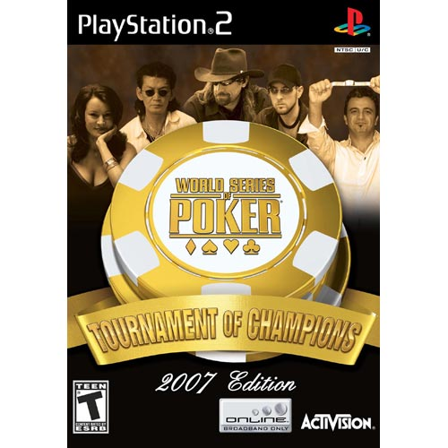 World Series of Poker Tournament of Champions PlayStation 2 by Activision