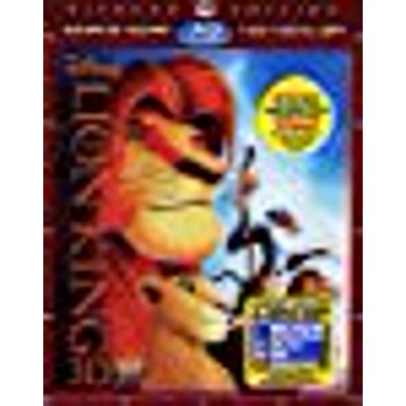 The Lion King 3D: Diamond Edition (Special Edition Blu-ray 3D + Blu-ray + DVD + Digital Copy with Bonus Original (The Lion King 3d Diamond Edition Blu Ray)