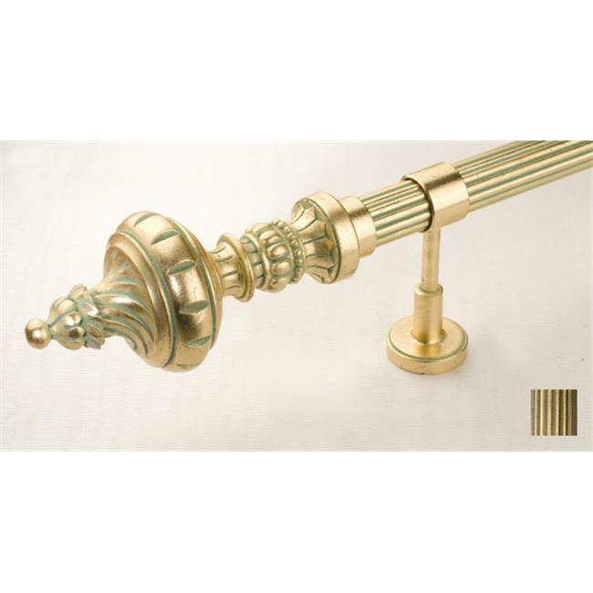 WinarT USA Palas 1098 Curtain Rod Set - 1. 75 inch 48