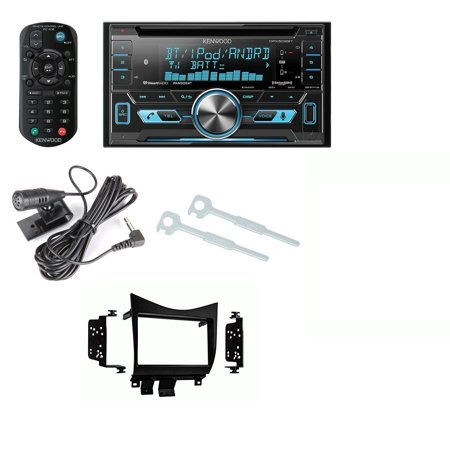 Kenwood Double Din Bluetooth CD Player USB/AUX Car Radio Receiver DPX502BT  With Metra 95-7862 Double DIN Installation Dash Kit for Honda Accord