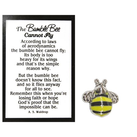 Gold Enameled Bumble Bee - Ganz Bumble Bee Charm