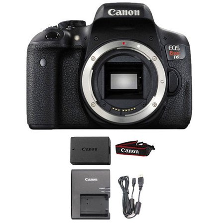 Canon EOS Rebel T6 Digital SLR Camera Wi-Fi Enabled (Body