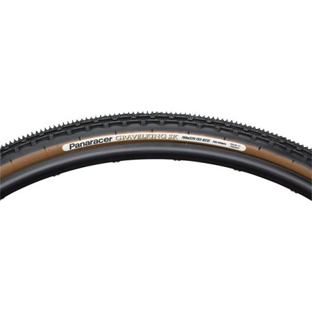 Panaracer GravelKing SK Tire 700x43 Folding Bead Brown Sidewall