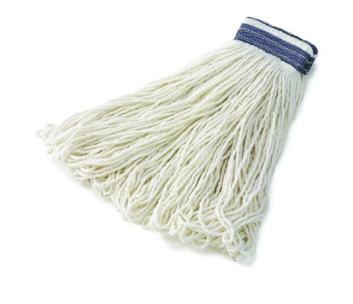 Rubbermaid Commercial Fge43900Wh00 Universal Headband Rayon Mop, 32-Ounce