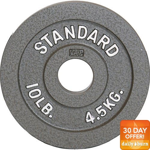 CAP Barbell 2-Inch Olympic Plate, Gray