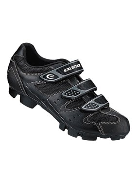 a497cae64f08 Product Image Exustar Small-324 Leather Mesh Spd Mountain Shoe 41 Black