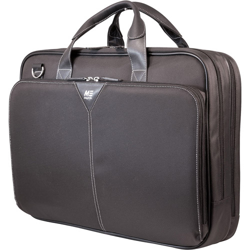 "Mobile Edge 16"" Premium Laptop Briefcase, Black"