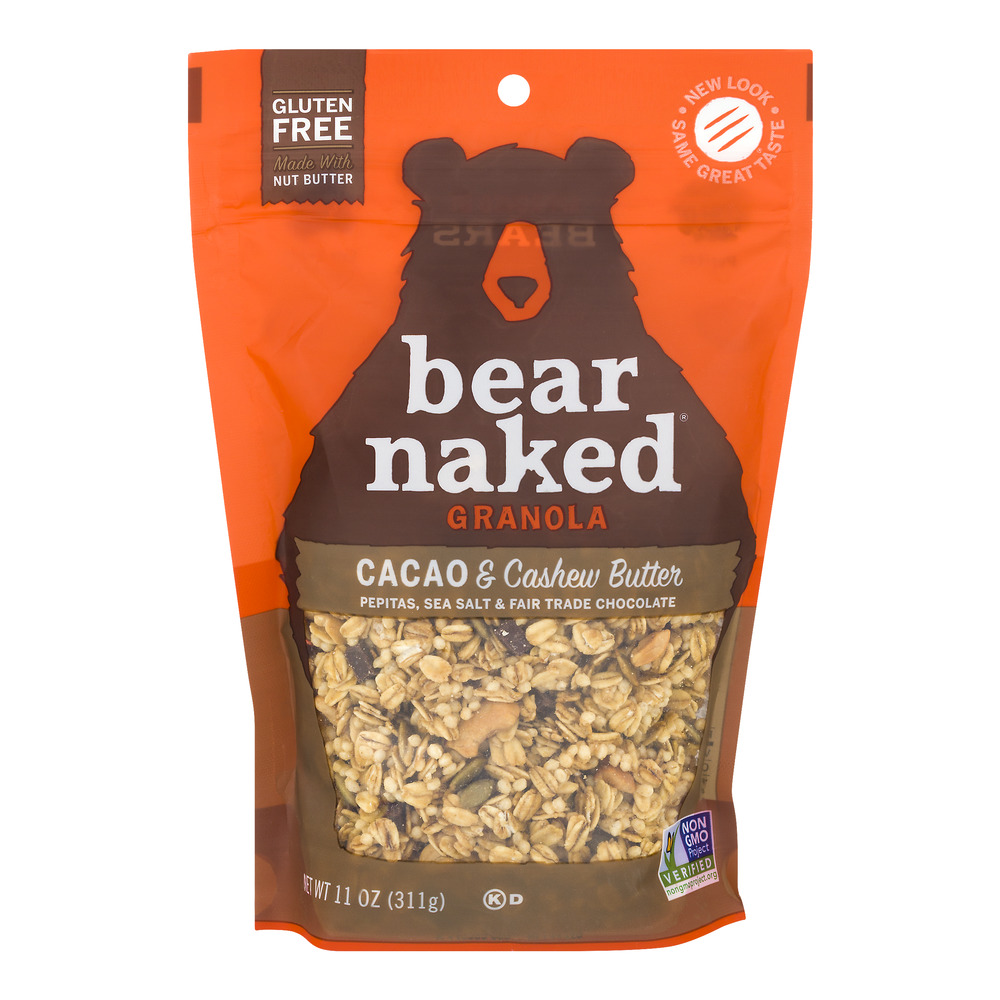 Bear Naked Granola Cacao & Cashew Butter Cereal, 11.0 OZ