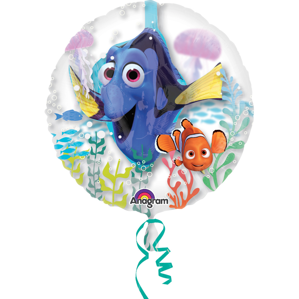 "Finding Dory 24"" Balloon (Each) - Party Supplies"