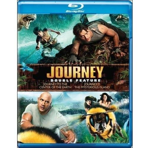 Journey To The Center Of The Earth / Journey 2: The Mysterious Island (Blu-ray)