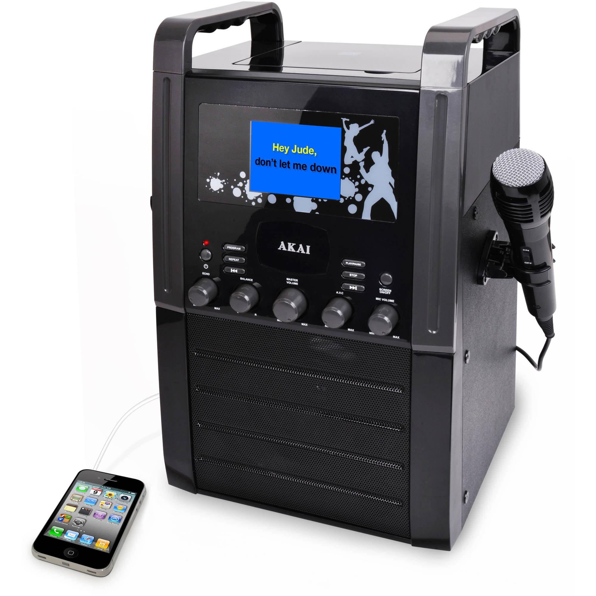 """Akai KS515 Karaoke Player with 3.5"""" Screen"""