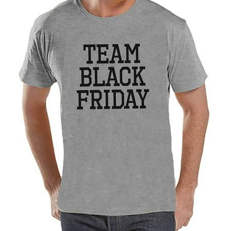 Custom Party Shop Men's Team Black Friday T-Shirt - X-Large - Custom Team Gear