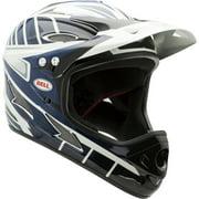 Bell Exodus Full-Face Bike Helmet w/ Chinbar, Black/Blue/White, Youth 8+ (56-59cm)