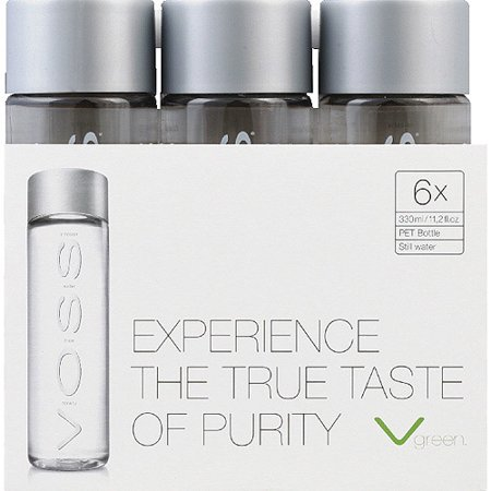 Voss Artesian Water, 11 2 fl oz, 6 count, (Pack of 4)