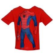 Spider-Man Marvel Comics Juvenile Superhero Costume T-Shirt Tee