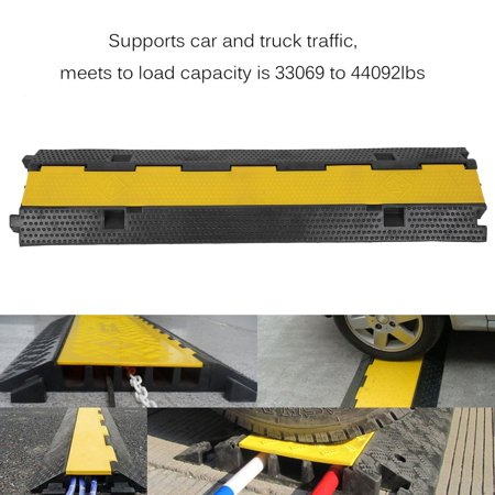 2PCS 2 Channel PVC Rubber Sturdy Vehicle Electrical Wire