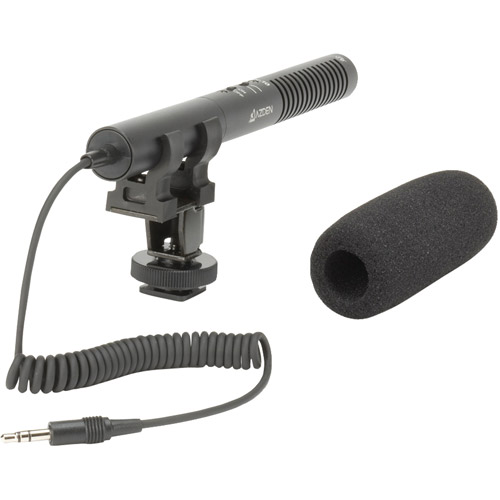 Azden - SMX-10 - Azden SMX-10 Stereo Microphone - Electret - Detachable - 10Hz to 18kHz - Cable