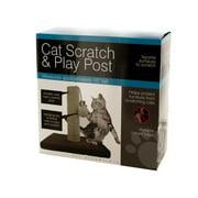 Bulk Buys OD425-3 Cat Scratch & Play Post