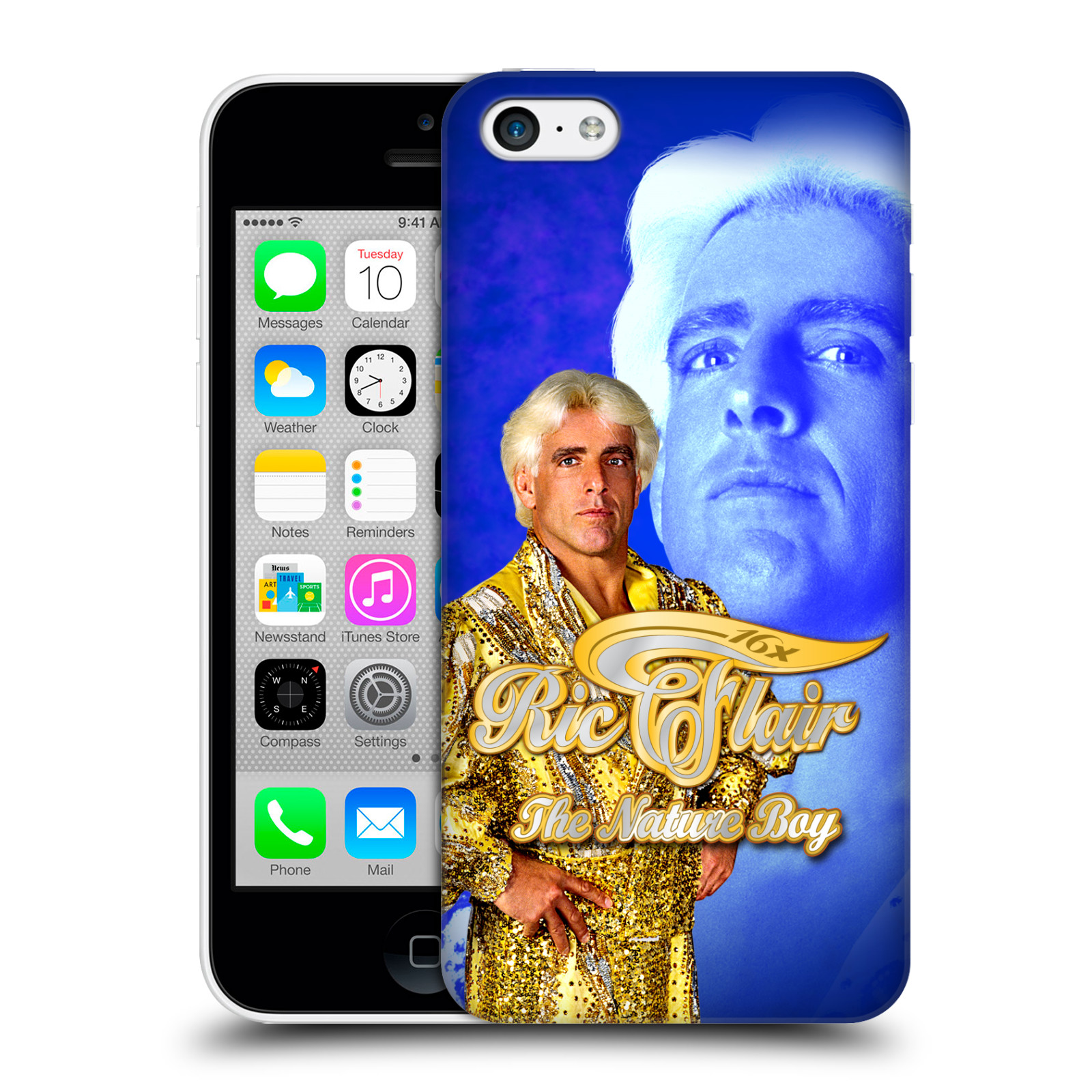 OFFICIAL WWE RIC FLAIR HARD BACK CASE FOR APPLE IPHONE PHONES