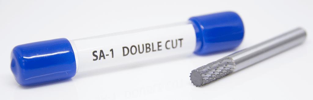 Premium Double Cut Tungsten Carbide Burr 1//4 Shank SA-1 Cylinder Shape