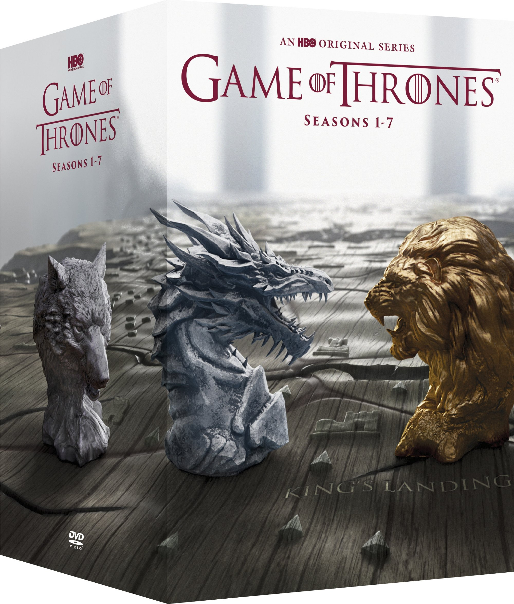 Game of Thrones: The Complete Seasons 1-7 (DVD) by HBO STUDIOS
