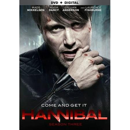 Hannibal: The Complete Third Season (DVD) (Hannibal Best Show On Tv)