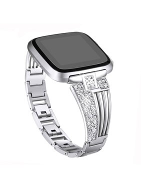 04046d0d7 Product Image Replacement Smartwatch Bands, EEEKit Stainless Steel Smart  Watch Band Alloy Metal Bracelet Scalloped Shape Design