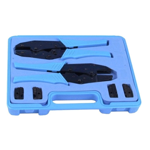 RF Industries Crimp Tool Kit: 2 Universal Frames & 2 Die Sets