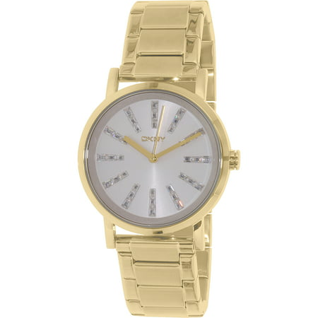 Dkny Women's Soho NY2417 Gold Stainless-Steel Quartz Fashion Watch
