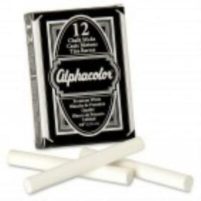 Dust Free Chalk (2PK Alpha Low Dust Chalk)