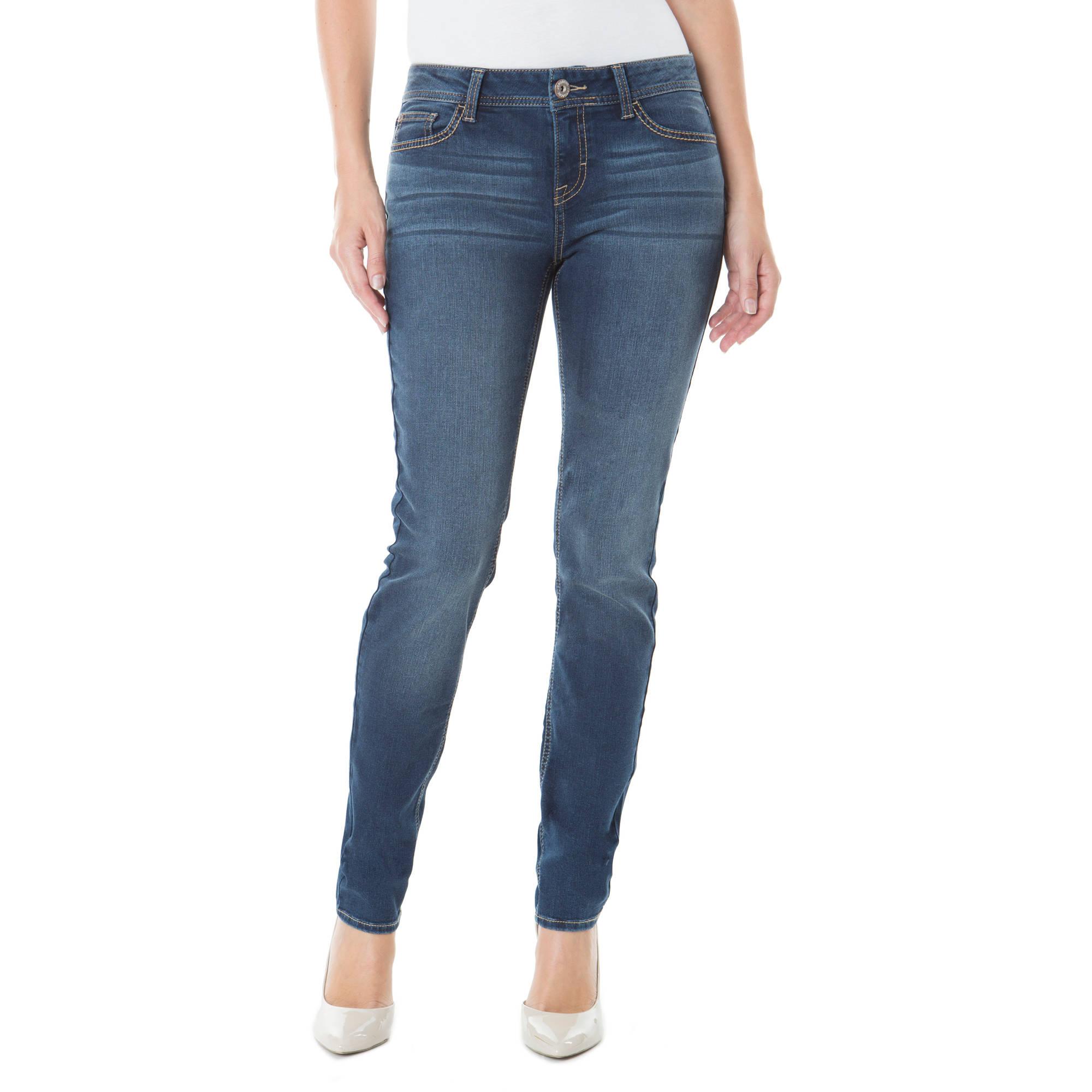Jordache Women's Mid-Rise Skinny Jean