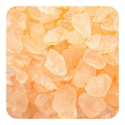Colored ICE Real Glass Gems, Scatters 20 lb (9.09 kg) Box; 4 - 10 mm - Peach
