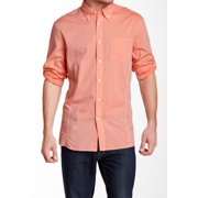 NEW Signal Coral Orange Small S Button Down Dress Shirt $98