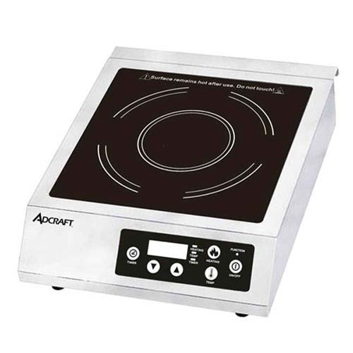 Image of AdCraft Full Size 120V Induction Cooker Apartment Portable IND-B120V