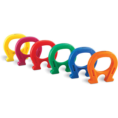 "5"" Horseshoe-Shaped Mighty Magnets, 6-Pack"