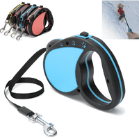 5M/16FT Retractable Dog Leash Extendable Pet Dog Walking Training Leash Nylon Automatic Lead -4 Colors