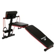 Wisebells™ 660 Exercise Flat/Incline/Decline Gym Bench