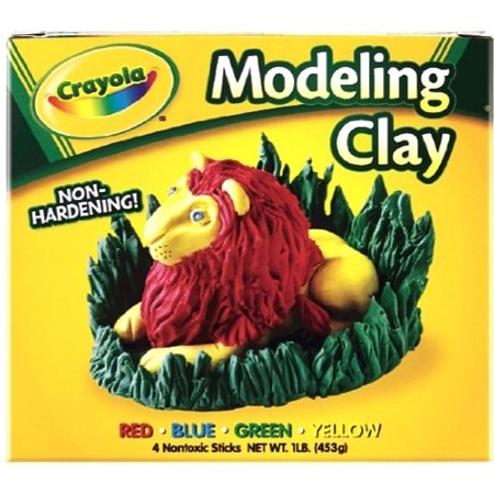 Crayola Modeling Clay 16 Oz  Pack Of 6