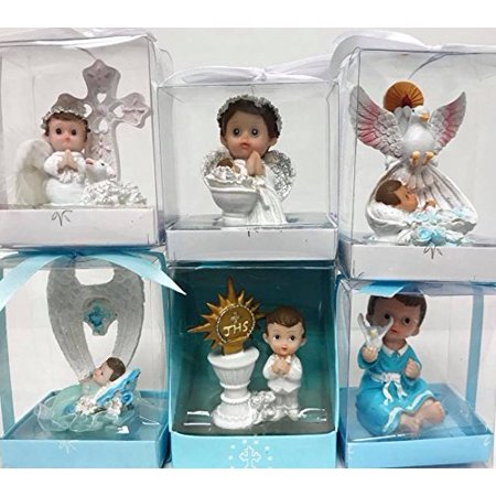 Christening Baptism Bautizo Boy Favors Assorted - 6 count