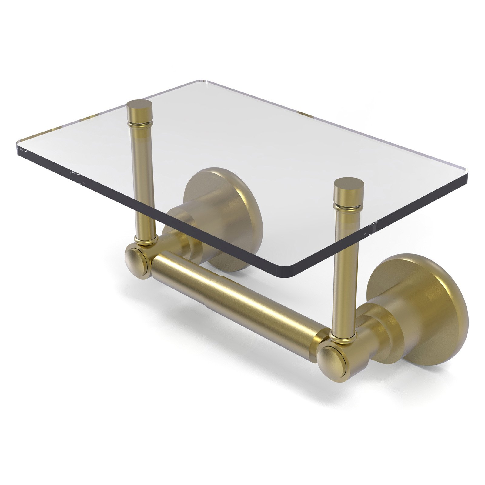 Allied Brass Washington Square 2 Post Toilet Tissue Holder With
