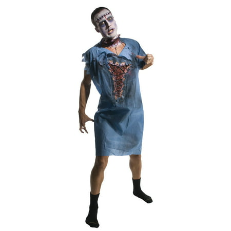 Halloween Zombie Patient Adult - Zombie Dress Halloween