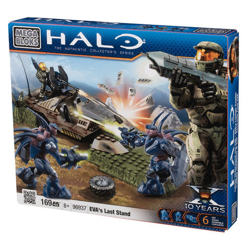 Mega Bloks Halo The Authentic Collector's Series Eva's Last Stand Set #96937