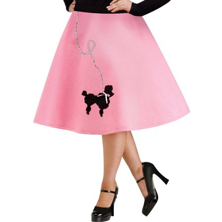 Poodle Skirt Plus Size Costume - Plus Size Pocahontas Costume