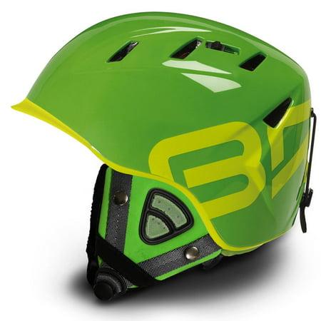 Briko 10.0 Contest Backcountry Green w/Contest Ears Ski Helmet Medium 57-58 CM