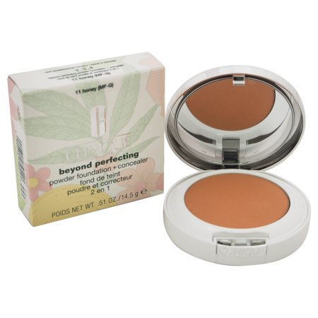 Beyond Perfecting Powder Foundation+Concealer #11 Honey(MF-G) - Dry Com. To Oily by Clinique for